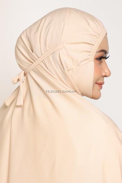 Zahra Telekung Travel - Buttermilk